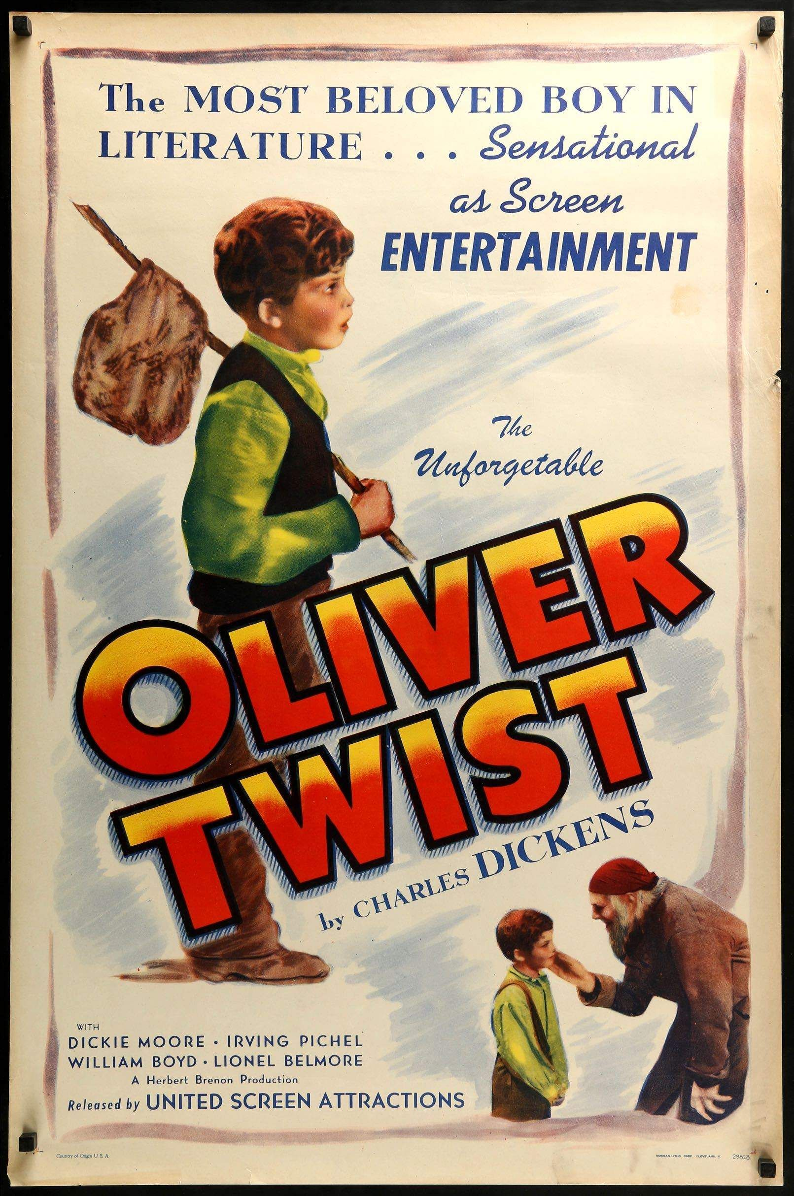Oliver Twist 1933 Oliver Twist Classic Films Posters Movie Posters