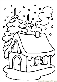 Risultati Immagini Per Casette Natale Da Stampare Disegni Da Colorare Per Bambini Ricami Natalizi Colori Di Natale