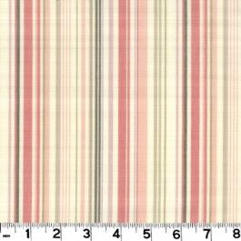 Highwire Ballet Slipper by Roth & Tompkins Textiles is a 100% cotton fabric with cream, pink and brown stripes.
