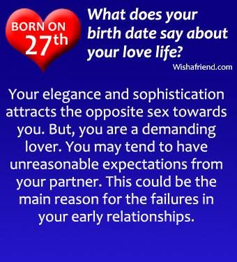 Born on the 27th Numerology Chart Pinterest Numerology and