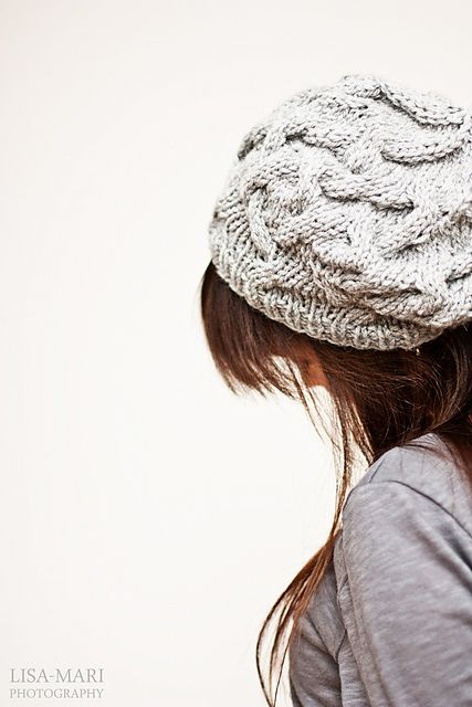 Warm and cozy beret