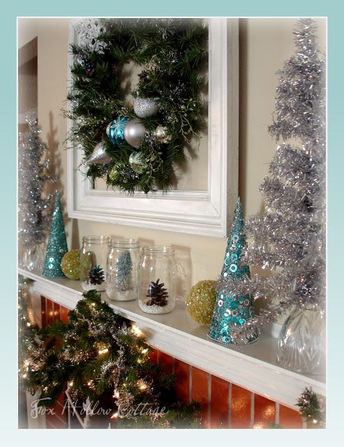Photo of A Little Pinch of Christmas & Our Holiday Mantle