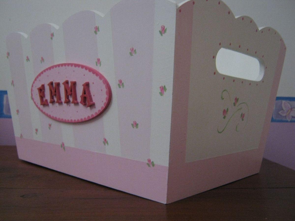 Resultado de imagen para pa aleras para bebes pintadas - Cajas decoradas para bebes ...