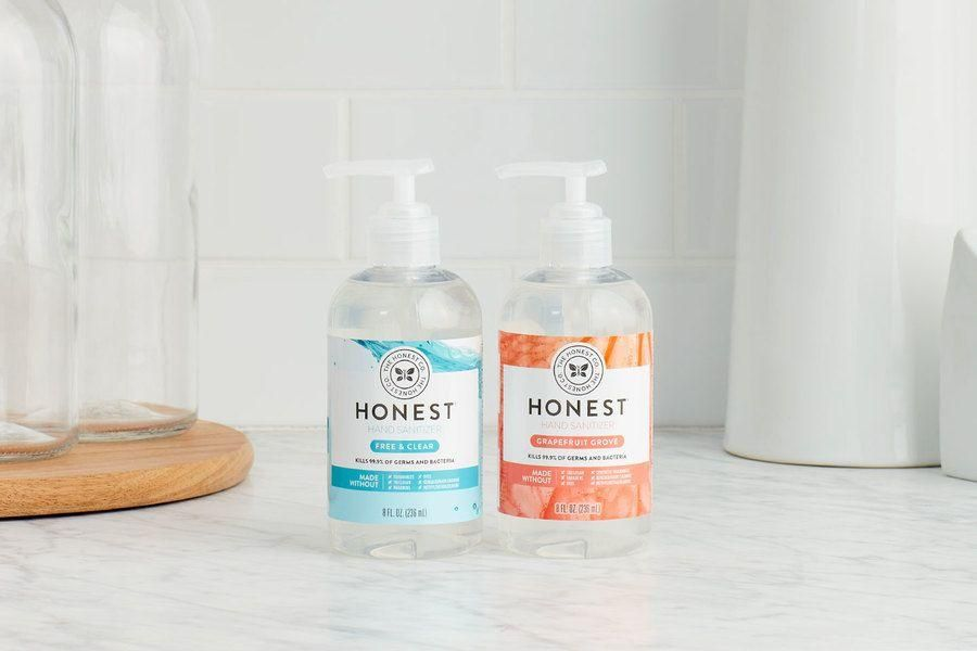 The Honest Company Hand Sanitizer Gel Orange 8 Oz 1 Each