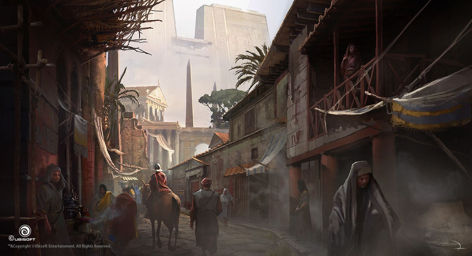 Assassin S Creed Origins Com Artes De Martin Deschambault