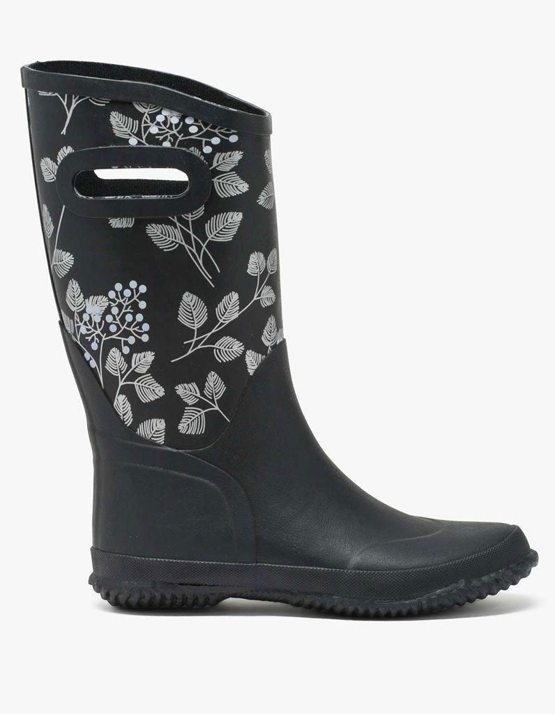1a0812e40f Bottes de pluie à fleurs Gémo