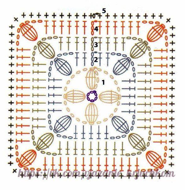Materiales gráficos Gaby: Bolso multiuso | crochet o ganchillo ...