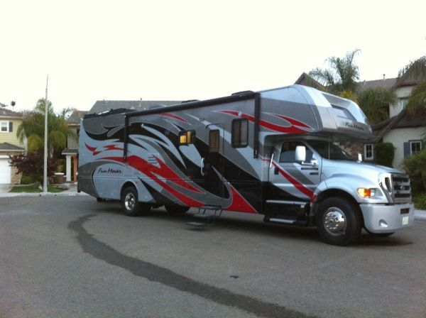 2006 39d Fun Mover Rv With Garage Recreational Vehicles Cool