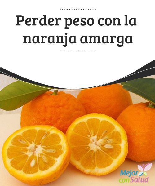 Zumo naranja agria para adelgazar