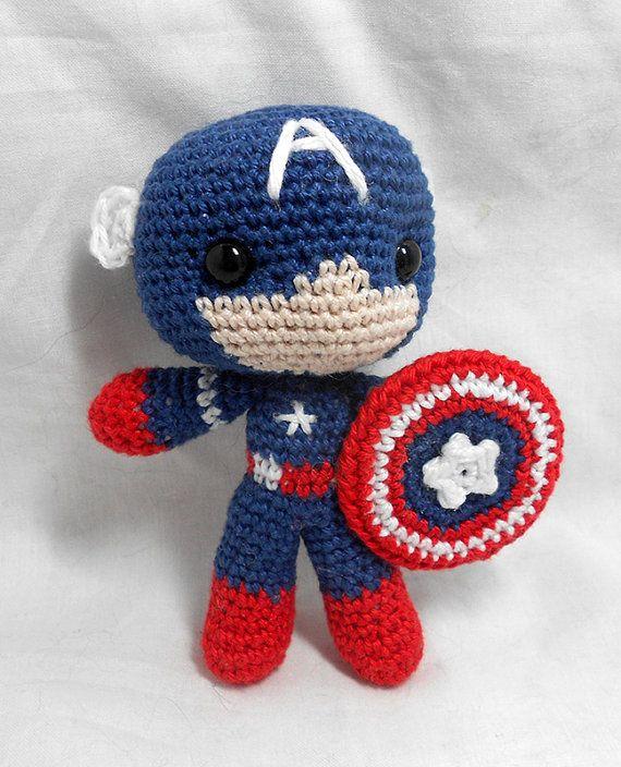 Captain America Amigurumi Crochet Patterns Ideas Free ... | 704x570