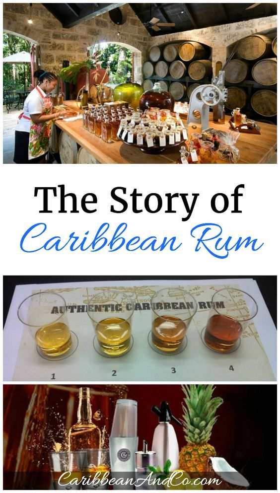 Rum has its origin in the Caribbean and for the past two