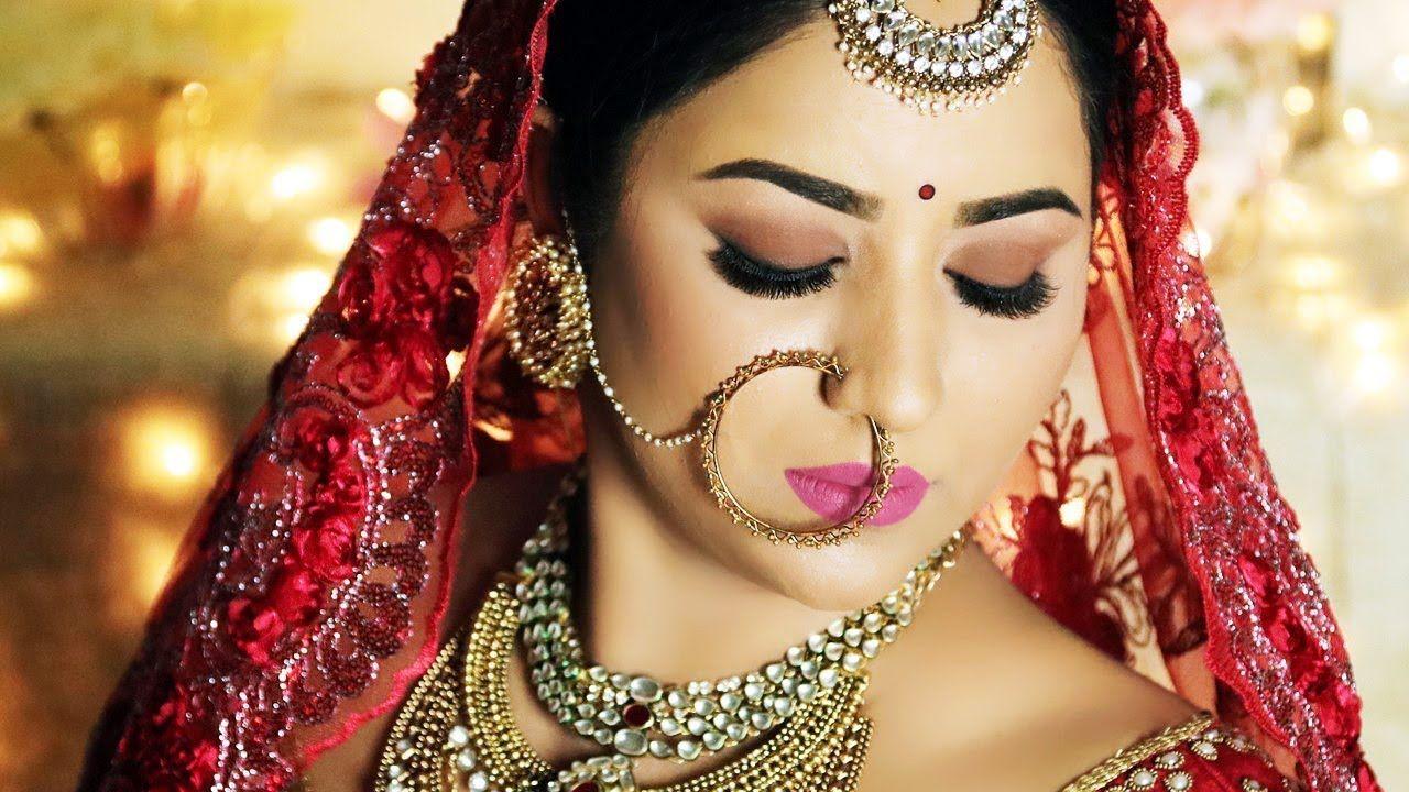 Matte Makeup Look Bengali Bridal Makeup Indian Bridal Makeup Bridal Eye Makeup