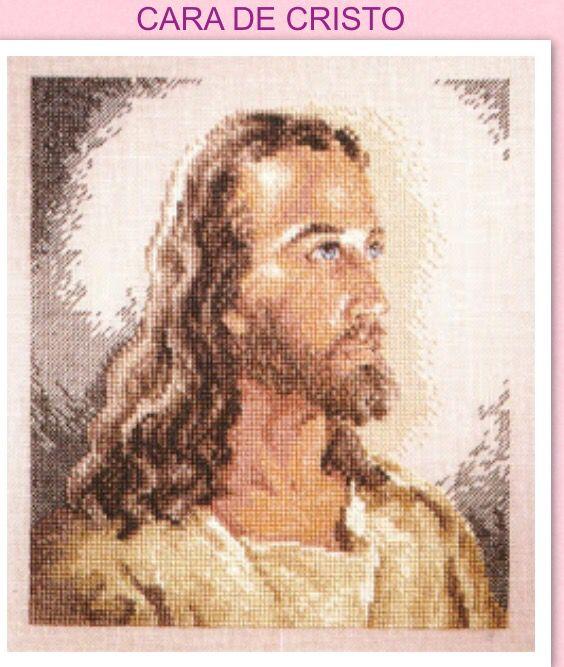 Rostro de jesus | iris galeana | Pinterest