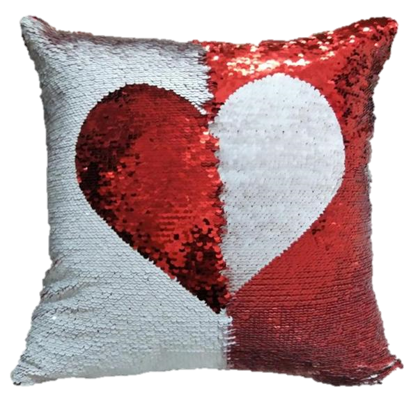 Red Gingham Letter W Throw Pillow Case