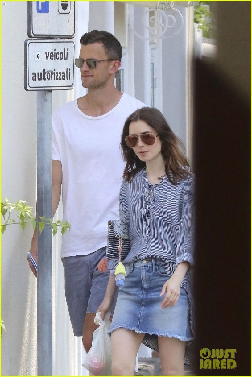 595b9ec0ece0 Lily Collins Kisses Jason Vahn During PDA-Filled Trip to Italy ...