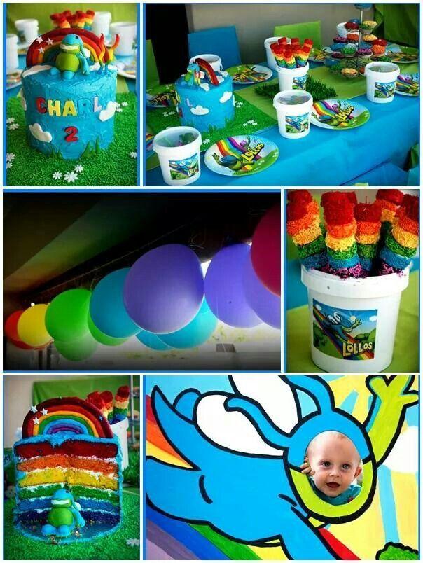 Lollos Tema Birthday Party Themes 4th Birthday Parties