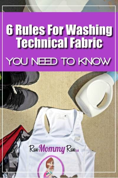 You pay so much for your workout clothes. You don't want to ruin it the first time you wash it. Here are 6 Rules of washing tech fabric you can't live without..