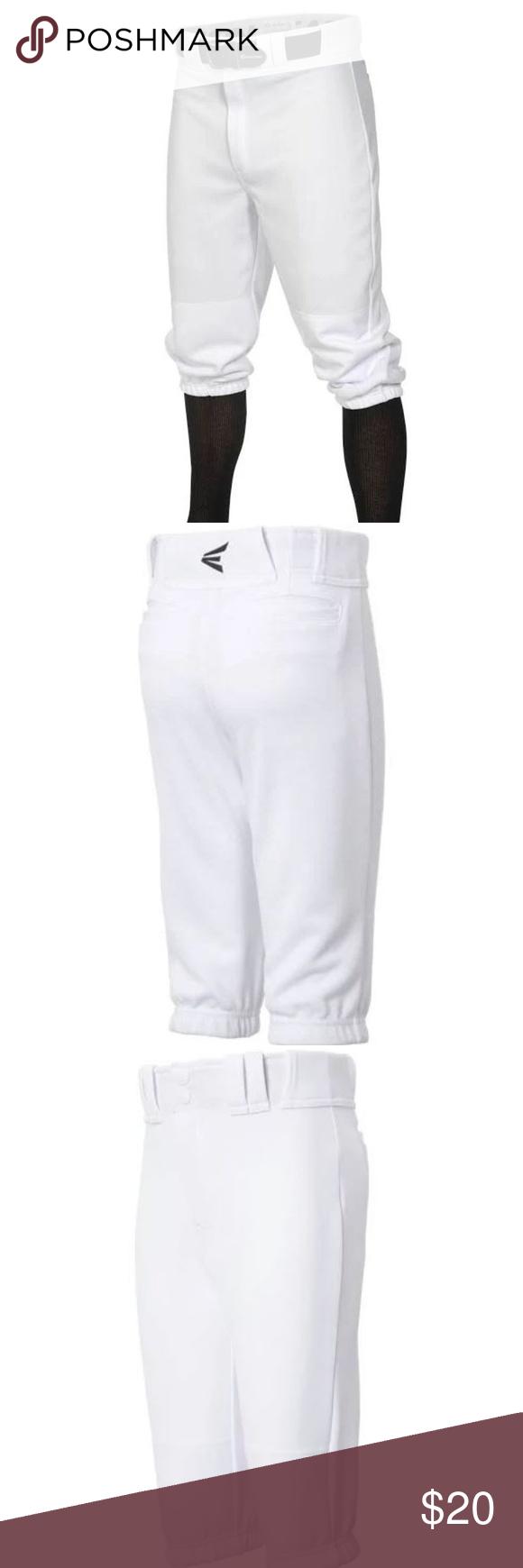 Easton Pro Knicker Youth Baseball Pants Large Easton Pro Knicker Youth Baseball Pants Old School Style Meets Modern Performa Pants Large Baseball Pants Pants