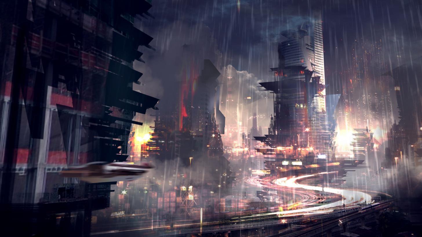 Cyberpunk Ish Wallpaper Dump 1080p Album On Imgur Scifi Fantasy Art Futuristic City City Wallpaper