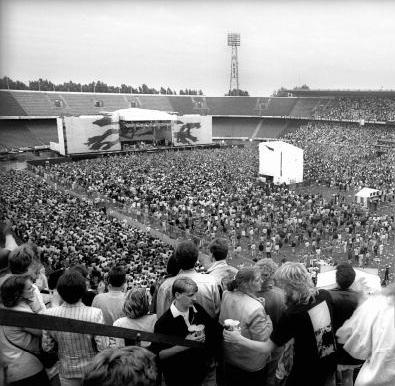 U2 de Kuip Rotterdam 10 juli 1987 Concerten, Rotterdam