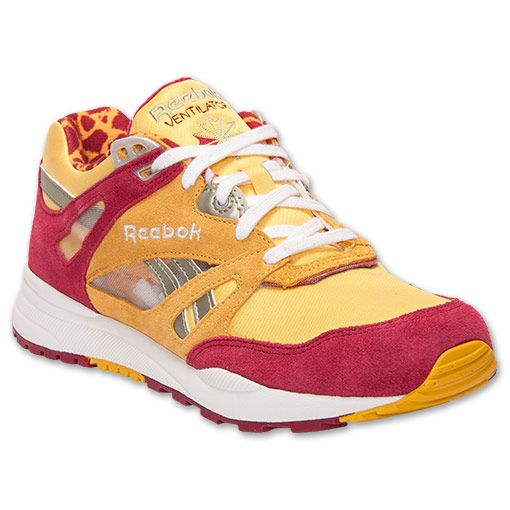 Reebok Women's Casual Shoes Ventilator Fierce Gold/Triple Pink/White