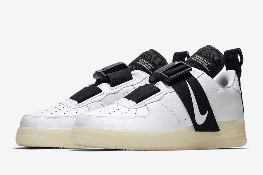Nike Air Force 1 Utility Av6247 100 Release Date