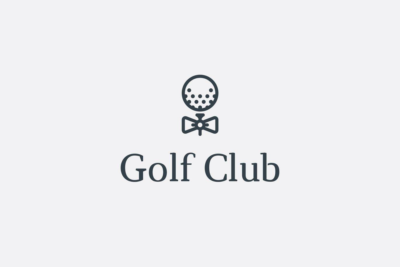 Golf Club Logo By Mir Design On Envato Elements Golf Logo Design Golf Clubs Golf Logo