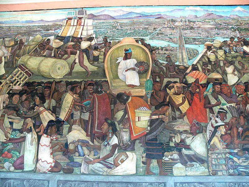Murales Rivera Markt In Tlatelolco 1 Diego Rivera Wikipedia