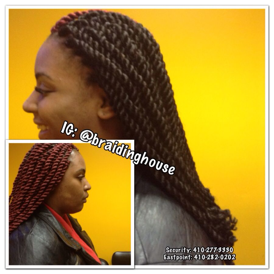 Marley Braids by the Braiding House