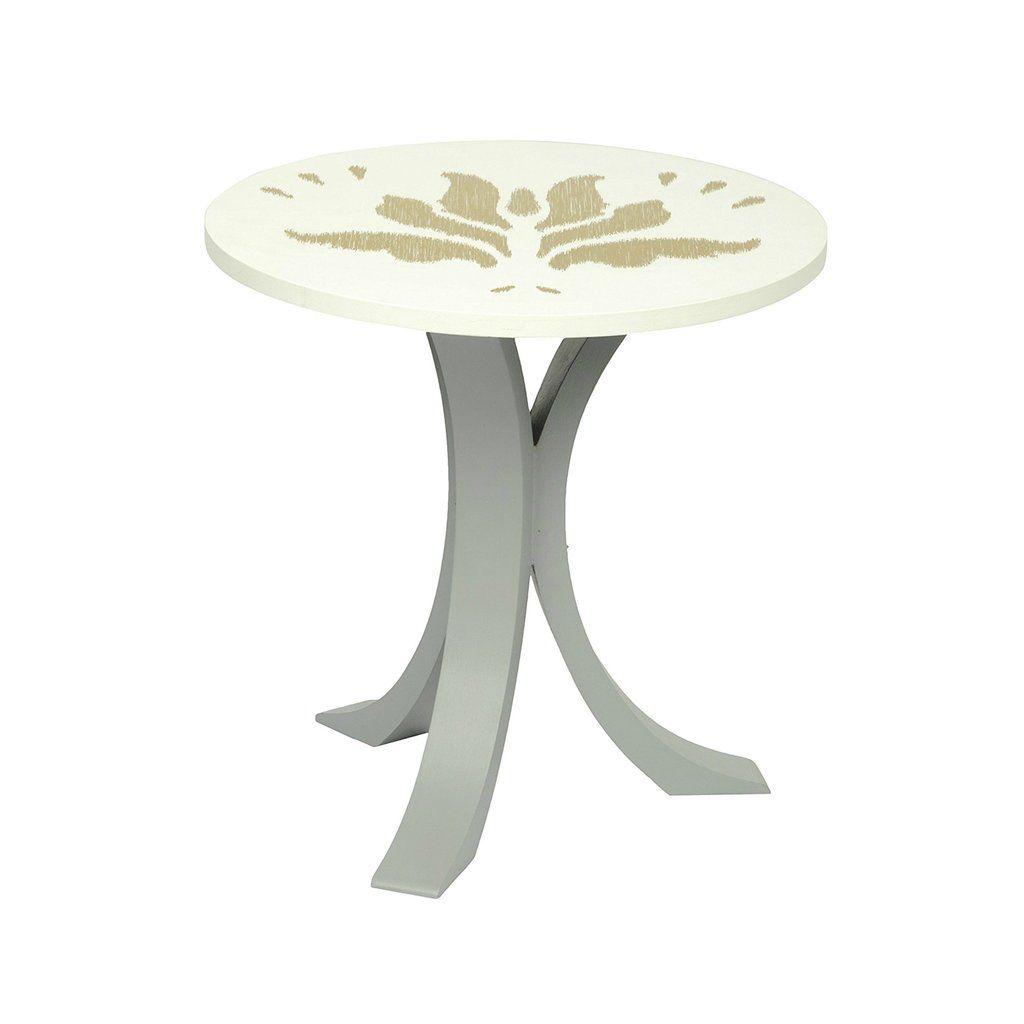 1 Bhk X Studio Kohl Ikat 3 Mini Table Wall Hanging In White Gold Mini Table Table Coffee Table [ 1024 x 1024 Pixel ]