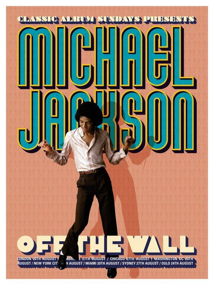 Michael Jackson Off The Wall Poster With Images Michael