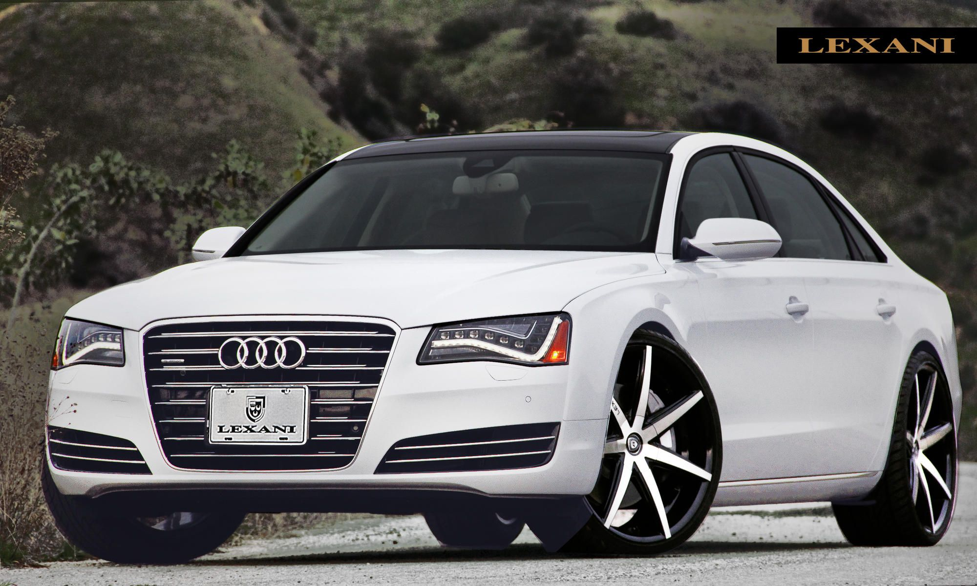 "Audi A8 Best Luxury Cars: 2013 Audi A8 On 22"" R-Seven By Lexani Wheels. Click To"