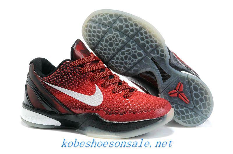 buy popular 75219 60bf4 Nike Zoom Kobe 6 Kids Basketball Shoes All Star Challenge Red Black 448693  600