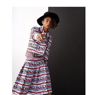 Look at this fucking outfit. Hot damn. | Jaden Smith Looks Amazing In A Dress In The New Vogue Korea