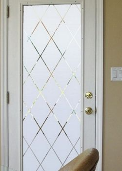 Orleans Decorative Window Film Frosted Glass Film Decorative Window Film Door Glass Design Glass Doors Interior