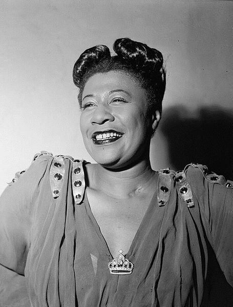 June 15, 1996 - Ella Fitzgerald an American jazz vocalist with a vocal range spanning three octaves dies at age 79
