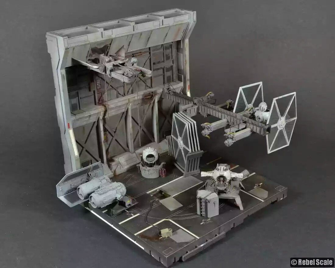 1 144 Abandoned Tie Fighter Facility By Unreality86
