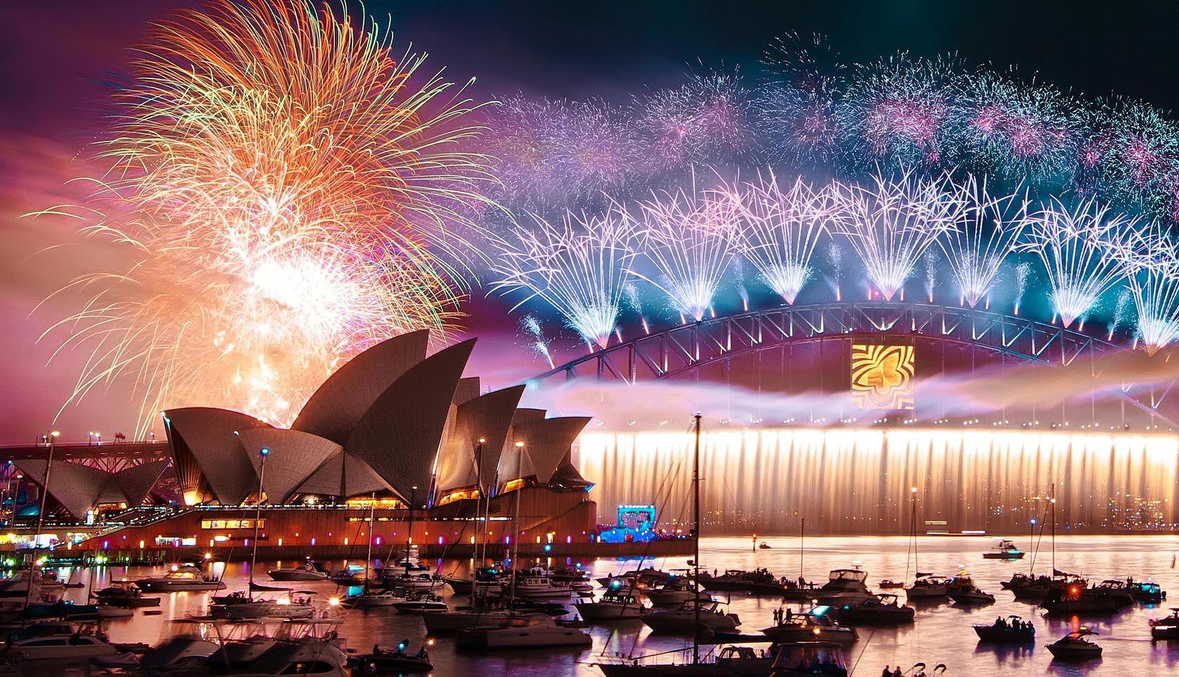 Slikovni rezultat za sidney new year celebration
