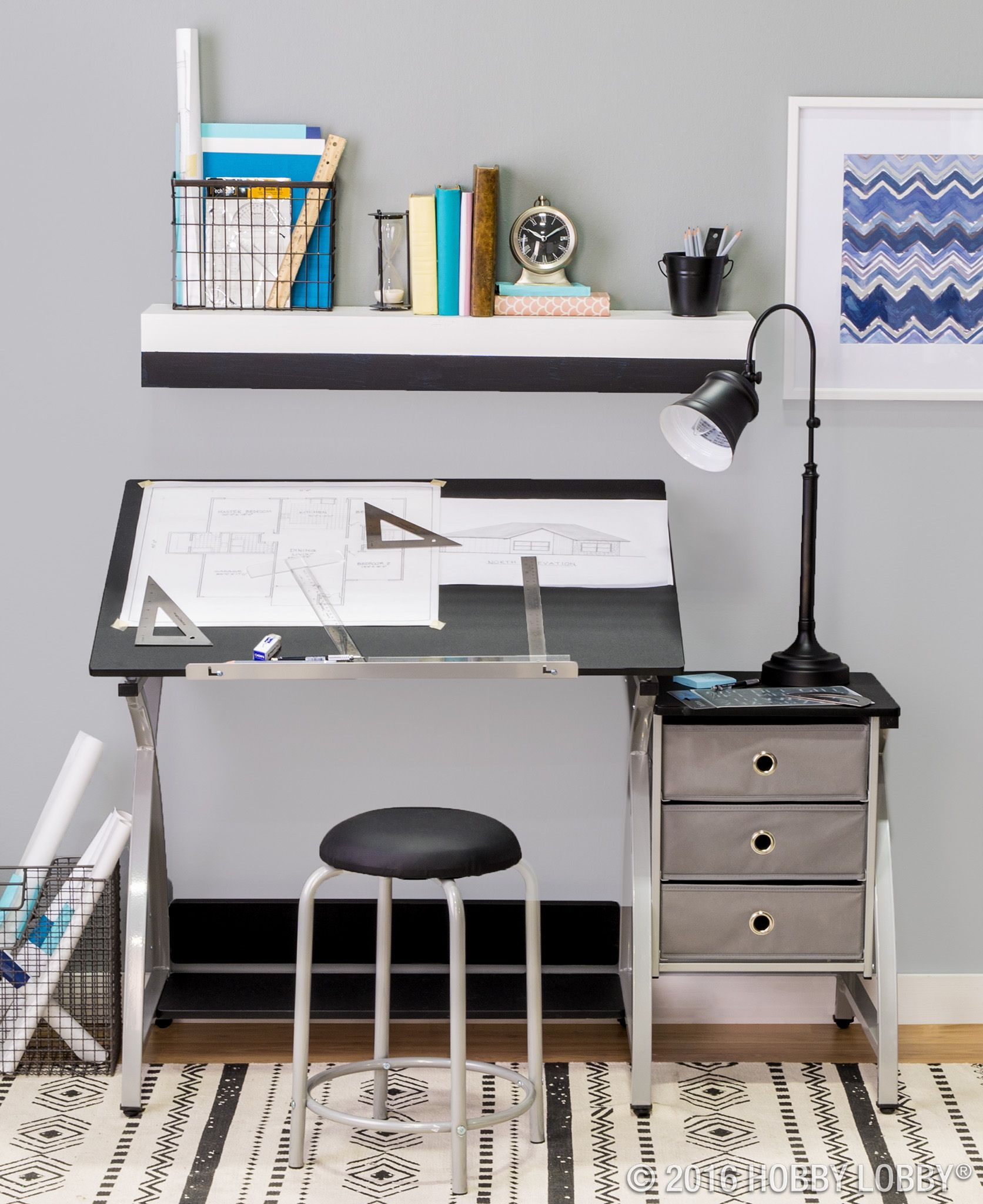 Create The Drafting Table Of Your Dreams With Plenty Of