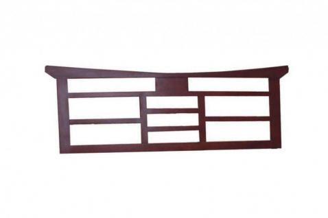 Kopfteil Headboard 160cm Feng Shui Braun Massiv Holz Moebel Bett  Schlafzimmer   Yatego.com