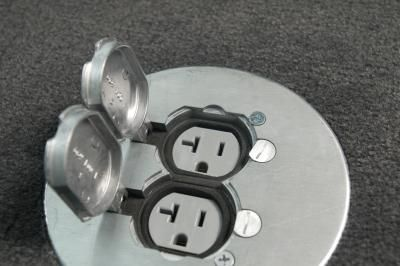 How To Install An Electrical Floor Outlet Electrical Outlets Outlets And Living Rooms