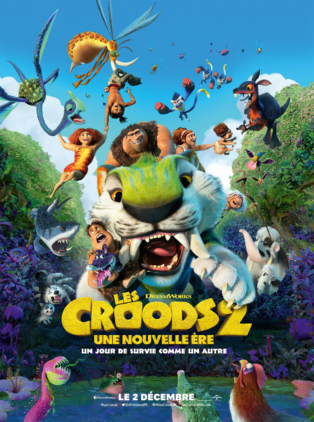 Return To The Main Poster Page For The Croods A New Age 2 Of 2 New Age Good Movies Free Movies Online