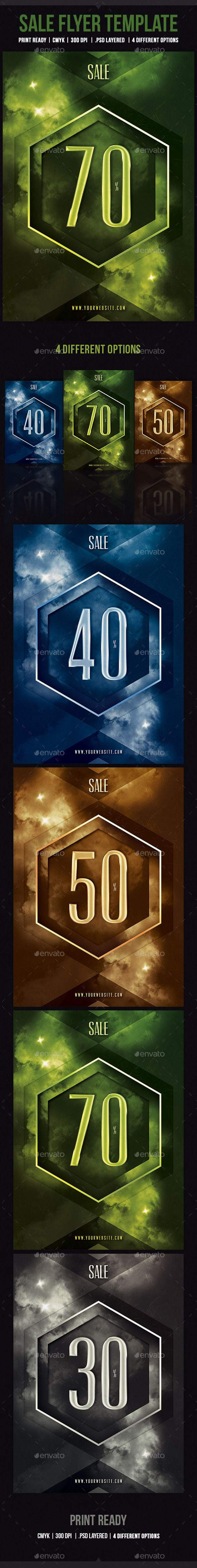 Sale Flyer Template Cs X Ad Template Advertising Blue