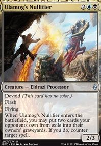 cheap eldarazi deck magic the gathering pinterest mtg decks