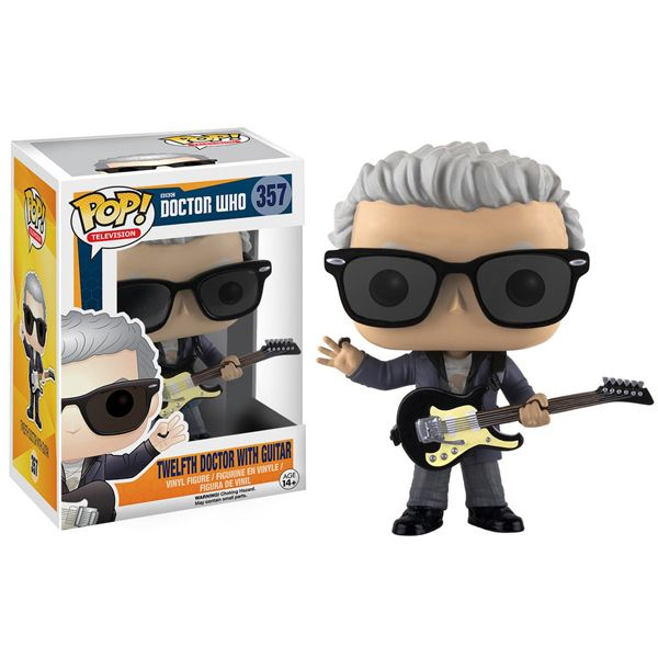 Doctor Who 12th Doctor With Guitar Pop Vinyl Figure Doctor Who Merchandise Doctor Who 12 Funko Pop Tv