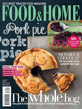 #MagLoveTop10 #BestFoodCovers2013 No. 3: Food and Home Entertaining, June 2013.