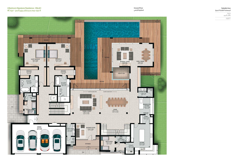 Sobha Hartland Villas Op House Plans Floor Plans Dream House