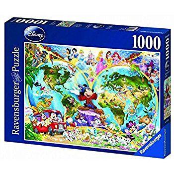 13 ravensburger disney world map 1000pc jigsaw puzzle amazon 13 ravensburger disney world map 1000pc jigsaw puzzle amazon gumiabroncs Images
