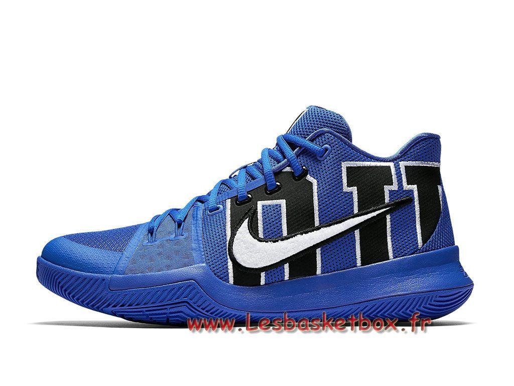 the best attitude 95c9f 5fb79 Chausport Basket Nike Kyrie 3 Duke 922027 001 Nike Pas cher Pour Homme Bleu  - 1707131065 -