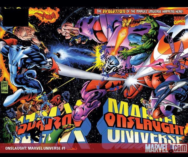 Marvel Comics Man-Thing #3 1998 Modern Age Gatefold Cover